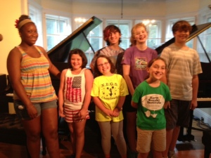 Summer Sonatina Scholarship Students
