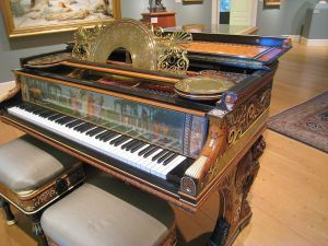 Steinway Piano at the Clark Art Institute