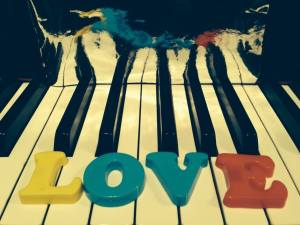 A love for piano