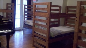 Bunk beds in room 22!