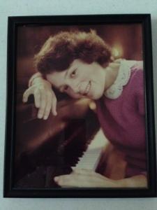 Polly van der Linde in 1982