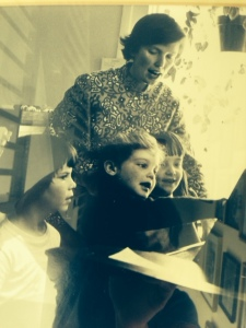 Mom in her early teaching days